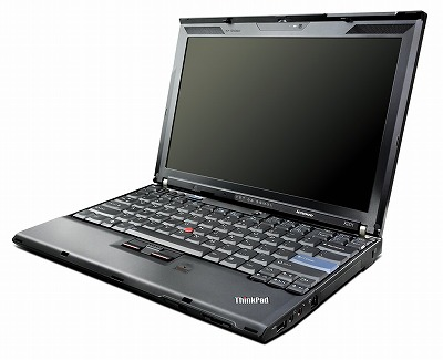 Thinkpad X201の写真