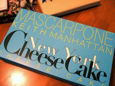 キースマンハッタンのニューヨークチーズケーキ