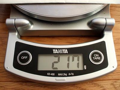 T61の4セルバッテリ重さ