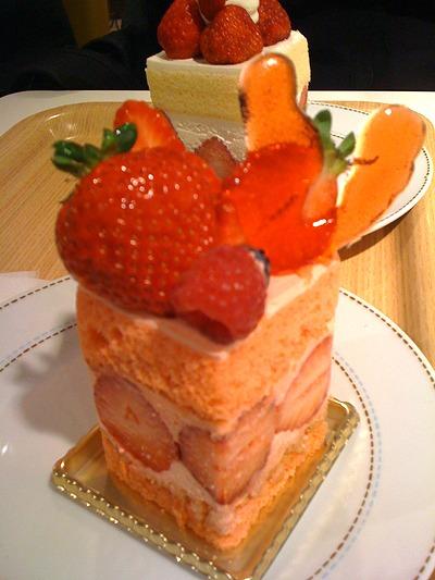 アローツリーのシンデレラジュエリーと言うケーキ