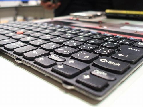 X100eのキーボード