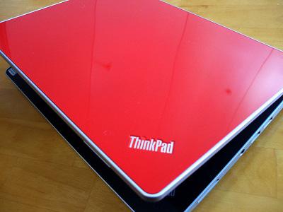"""Thinkpad Edge 13"""" グロッシー・レッドのトップパネル"""