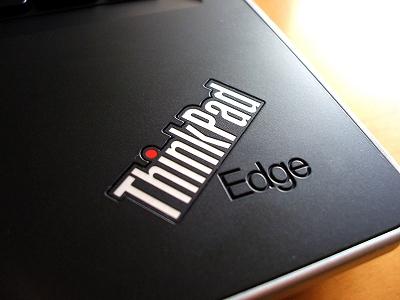 """Edge 13""""パームレストのロゴ"""