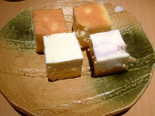 プチケーキ二皿目