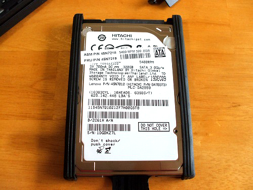 ThinkPad X201 HDD