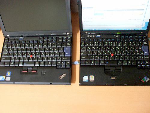 X201とX60