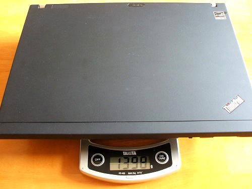 ThinkPad X201 重量
