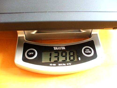 X201の重量拡大