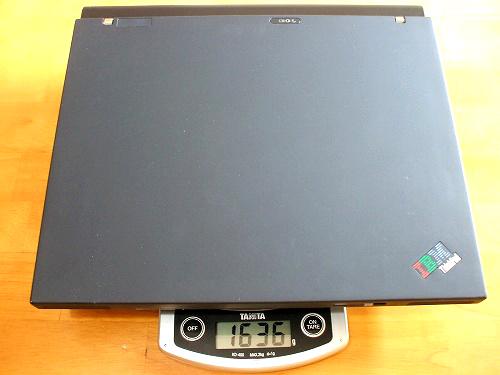 X60の重量