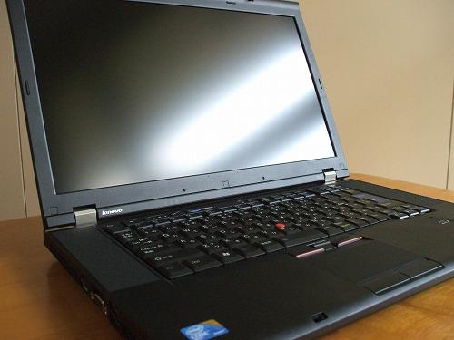 ThinkPad T510 ディスプレイ