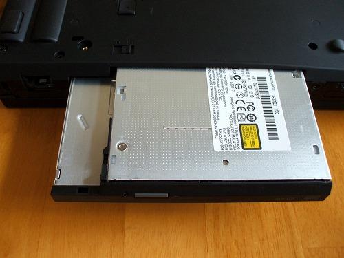 Thinkpad T410・T510 着脱式DVDスーパーマルチドライブ