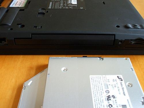 Thinkpad T410・T510 ウエイトセーバーを装着