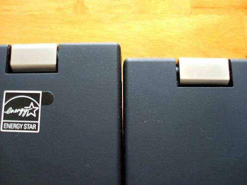 ThinkPad T510とT410の比較 奥行2