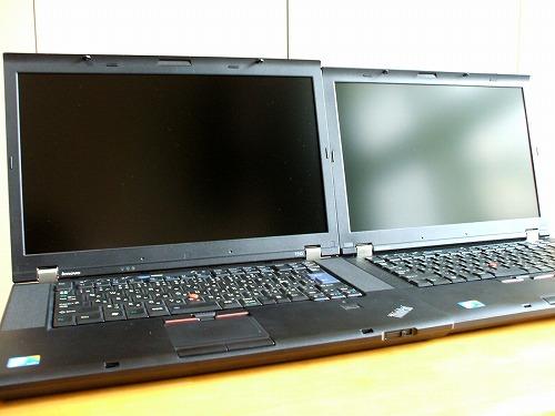 T410とT510 比較画像1