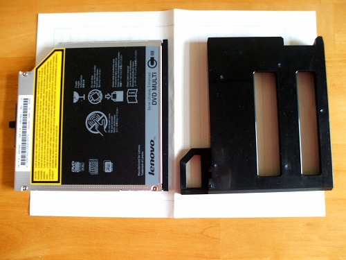 DVDドライブとウエイトセーバー比較