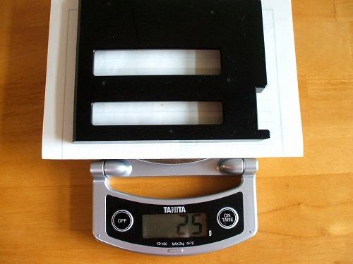 Thinkpad T410・T510 ウエイトセーバーの重量
