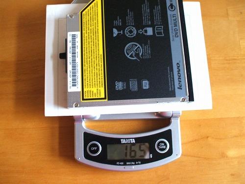 DVDドライブ計測