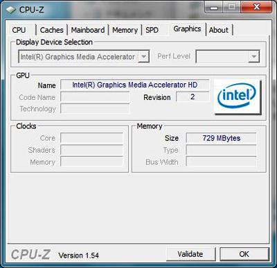 ThinkPad T510 CPU-Z グラフィックス