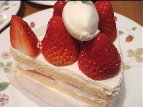 苺のショートケーキ元画像