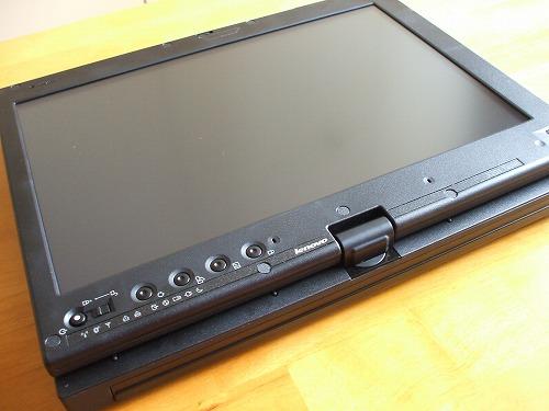 タブレットスタイルのX201 tablet