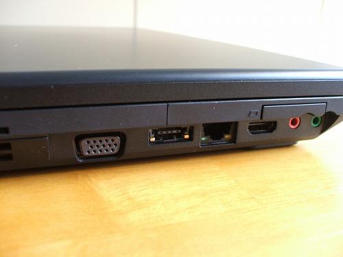 SL510の左側面拡大