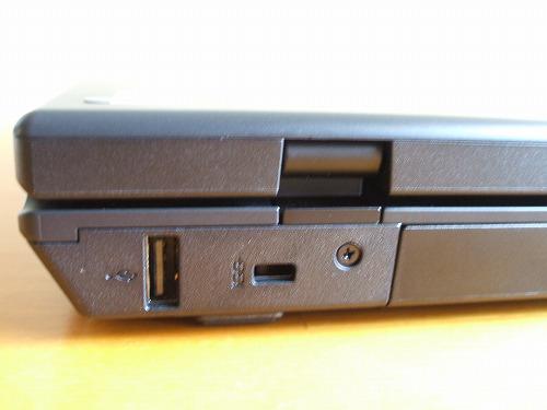 ThinkPad SL510 背面のUSB