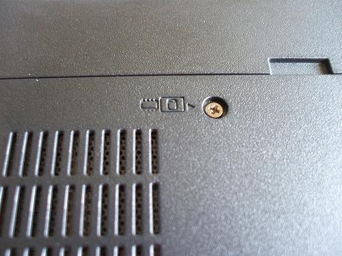 メモリとHDDのマーク