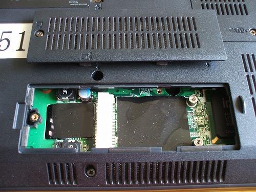 ThinkPad SL510 無線WAN カードスロット