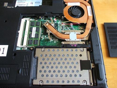 ThinkPad SL510 サーマル・スロット