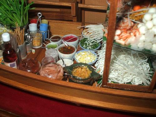 タイ食材、調味料のミニチュア