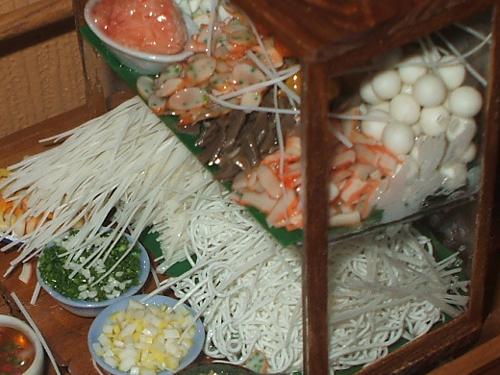 タイ食材のミニチュア