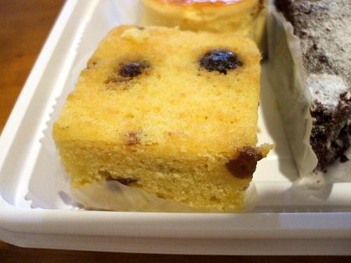 レーズンの焼き菓子