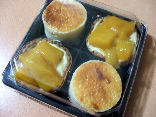 プチフール デュ マンゴー&チーズ