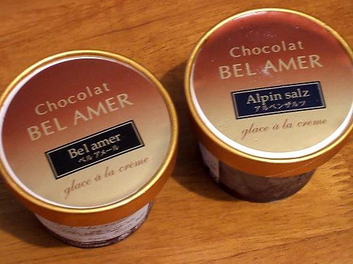 2種のチョコレートアイス