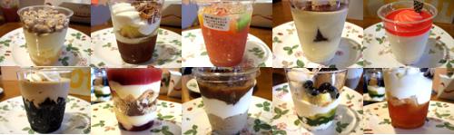 カップデザート10種