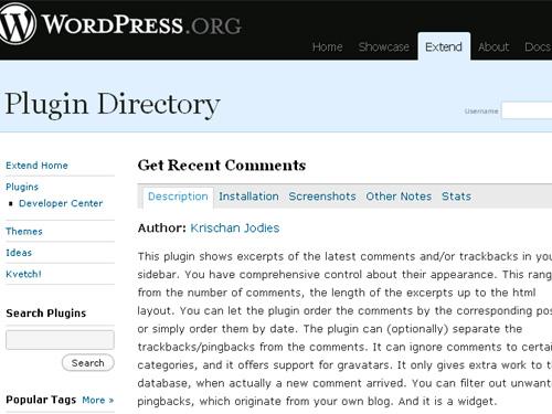 WordPressのPlugin Directory