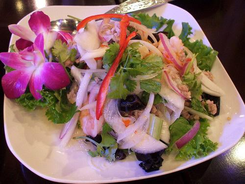 タイ風春雨の辛口サラダ