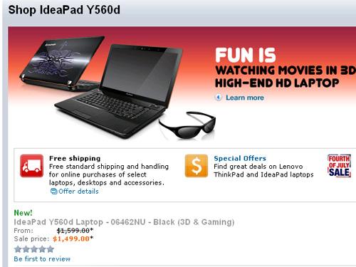 Lenovo US IdeaPad Y560d