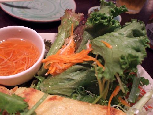 バインセオの野菜
