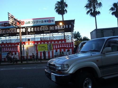 山車コンクール審査会場