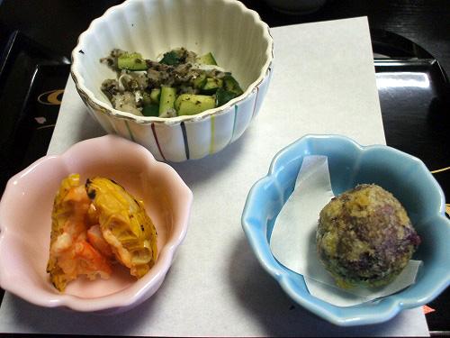 前菜 三種盛り
