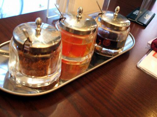 3種の調味料