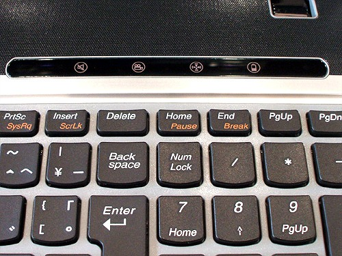 Z560 キーボード右上のボタン
