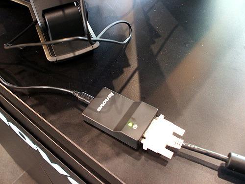 Lenovo USB DVI 変換モニターアダプター