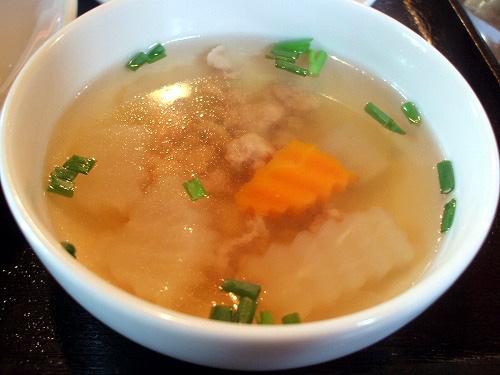 そぼろと野菜のスープ