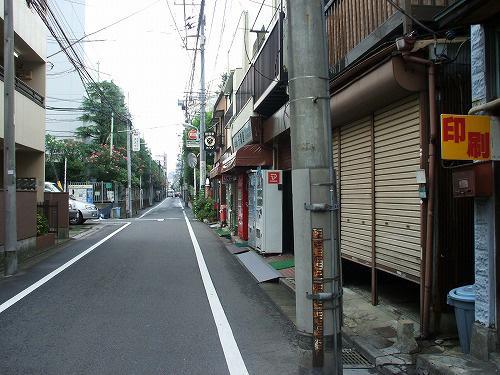 高田馬場 街の風景
