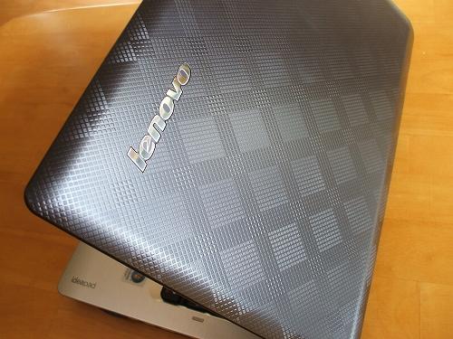 IdeaPad U350のトップパネル