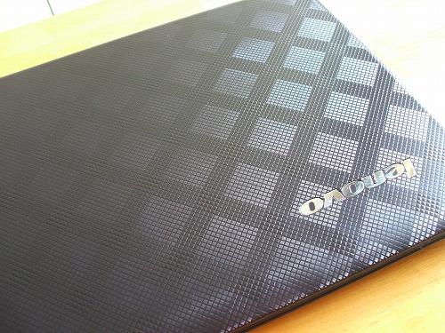 IdeaPad U450pのトップパネル