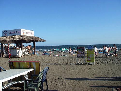 由比ヶ浜の風景