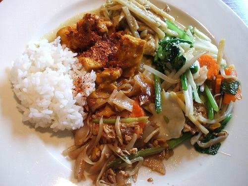 タイ料理数種